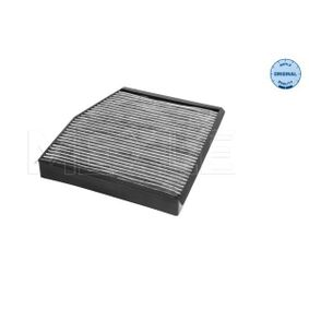 Filter, Innenraumluft Länge: 216mm, Breite: 163mm, Höhe: 25mm mit OEM-Nummer 46722862