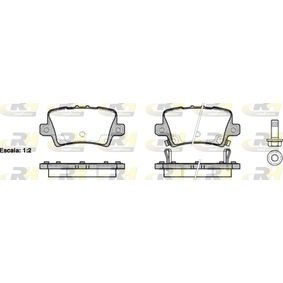 Brake Pad Set, disc brake 21206.02 CIVIC 8 Hatchback (FN, FK) 2.0 i-VTEC Type R (FN2) MY 2010