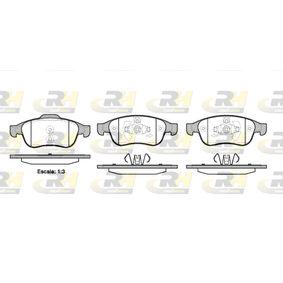 Bremsbelagsatz, Scheibenbremse Höhe 1: 64,7mm, Höhe 2: 59,4mm, Dicke/Stärke: 18mm mit OEM-Nummer 4106 071 15R