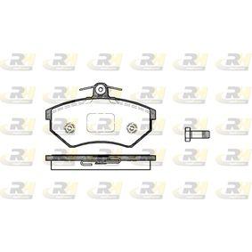Bremsbelagsatz, Scheibenbremse Höhe: 69,6mm, Dicke/Stärke: 16mm mit OEM-Nummer 357 698 151D