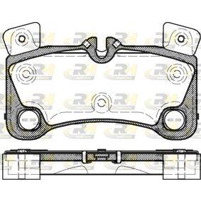 Bremsbelagsatz, Scheibenbremse Höhe: 77mm, Dicke/Stärke: 16,2mm mit OEM-Nummer 955 352 939 61