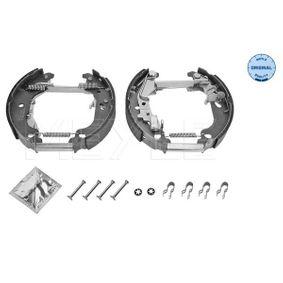 Brake Set, drum brakes 214 533 0013/K PUNTO (188) 1.2 16V 80 MY 2004