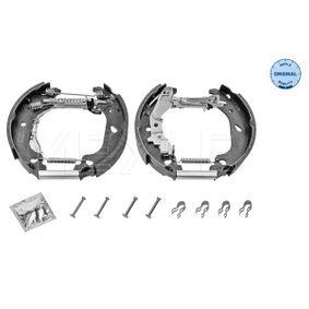 Brake Set, drum brakes 214 533 0018/K PUNTO (188) 1.2 16V 80 MY 2006