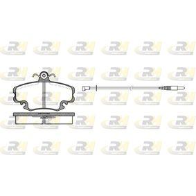 Bremsbelagsatz, Scheibenbremse Höhe: 64,8mm, Dicke/Stärke: 18mm mit OEM-Nummer 7701 201 773
