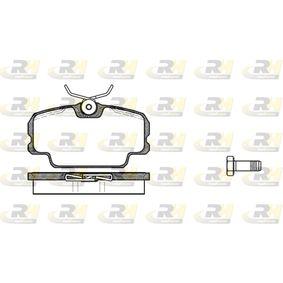 Bremsbelagsatz, Scheibenbremse Breite: 95mm, Höhe: 50,8mm, Dicke/Stärke: 17,5mm mit OEM-Nummer 701 698 451C
