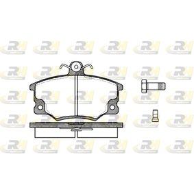 Bremsbelagsatz, Scheibenbremse Höhe: 66,5mm, Dicke/Stärke: 17mm mit OEM-Nummer 791873