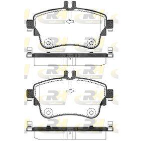 Bremsbelagsatz, Scheibenbremse Höhe: 71,5mm, Dicke/Stärke: 19mm mit OEM-Nummer A 006 420 48 20