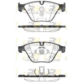 Bremsbelagsatz, Scheibenbremse Höhe 2: 68,4mm, Höhe: 68,3mm, Dicke/Stärke 2: 19mm, Dicke/Stärke: 20mm mit OEM-Nummer 34116850886