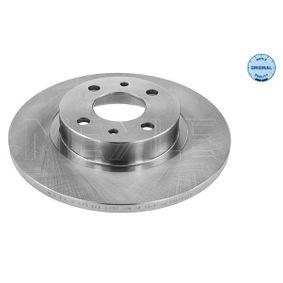 Brake Disc 215 521 2002 PUNTO (188) 1.2 16V 80 MY 2002