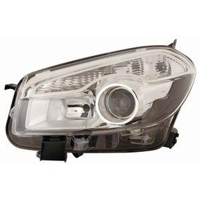 2013 Nissan Qashqai j10 1.6 Headlight 215-11D7R-LD-EM