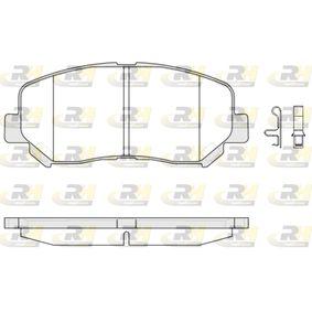 Bremsbelagsatz, Scheibenbremse Höhe: 61,2mm, Dicke/Stärke: 15,8mm mit OEM-Nummer 25564 ROADHOUSE