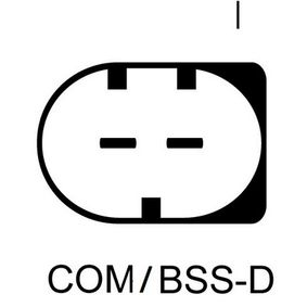 Lichtmaschine Rippenanzahl: 6 mit OEM-Nummer 7 532 969