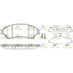 Bremsbelagsatz, Scheibenbremse Höhe: 55,1mm, Dicke/Stärke: 16mm mit OEM-Nummer 5581061M00