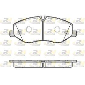 Bremsbelagsatz, Scheibenbremse Höhe: 75mm, Dicke/Stärke: 20,8mm mit OEM-Nummer A4474200020