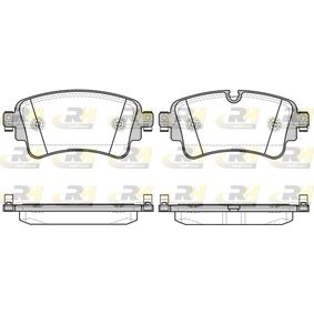 Brake Pad Set, disc brake Height: 59,1mm, Thickness: 17,5mm with OEM Number 8W0 698 451 F