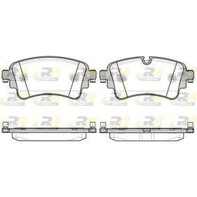 Brake Pad Set, disc brake Article № 21669.08 £ 140,00