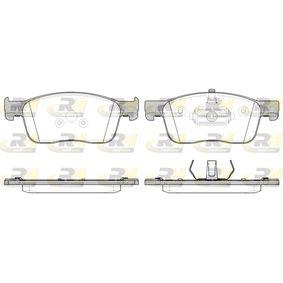 Bremsbelagsatz, Scheibenbremse Höhe: 69,4mm, Dicke/Stärke: 17,3mm mit OEM-Nummer 16 132 607 80