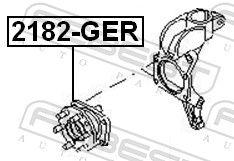 Wheel Bearing FEBEST 2182-GER rating