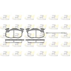Bremsbelagsatz, Scheibenbremse Höhe: 54,3mm, Dicke/Stärke: 18mm mit OEM-Nummer 4248.62