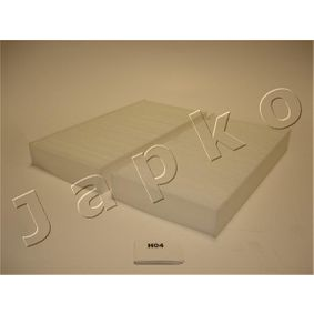 Filter, interior air Length: 224mm, Width: 109mm, Height: 29mm with OEM Number 80292 SCA E11