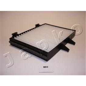Filter, Innenraumluft Länge: 220mm, Breite: 210,6mm, Breite 1: 157mm, Höhe: 25mm mit OEM-Nummer MR360889