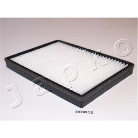 Filter, Innenraumluft Länge: 273mm, Breite: 196mm, Höhe: 27mm mit OEM-Nummer 95 599 725