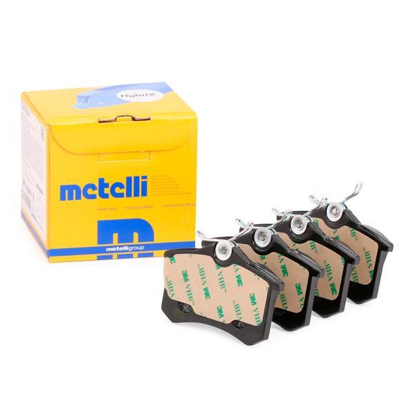 Jogo de pastilhas para travão de disco METELLI D1112 conhecimento especializado