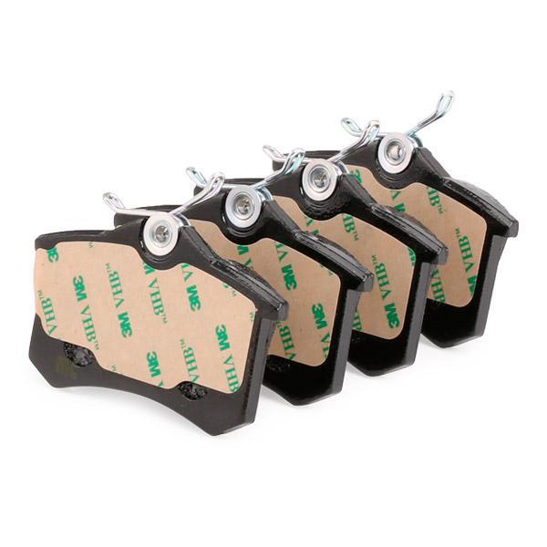 Jogo de pastilhas para travão de disco METELLI 22-0100-1 2212192645760