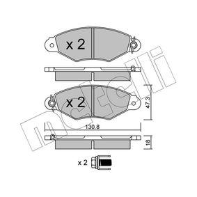 Bremsbelagsatz, Scheibenbremse Dicke/Stärke 1: 18,0mm mit OEM-Nummer 425205