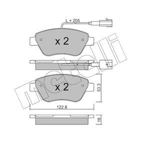 Bremsbelagsatz, Scheibenbremse Dicke/Stärke 1: 18,0mm mit OEM-Nummer 71770118