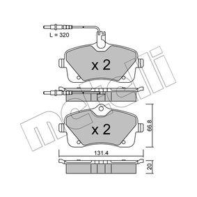 Bremsbelagsatz, Scheibenbremse Dicke/Stärke 1: 20,0mm mit OEM-Nummer 4254-78