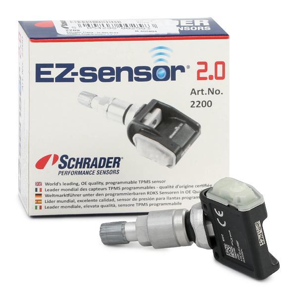 Radsensor, Reifendruck-Kontrollsystem SCHRADER 2200 Erfahrung