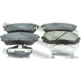 2019 Kia Sportage Mk3 2.4 Brake Pad Set, disc brake 2201-FQF