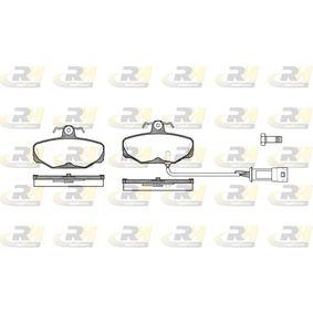 Bremsbelagsatz, Scheibenbremse Höhe: 54mm, Dicke/Stärke: 13,5mm mit OEM-Nummer 1111283
