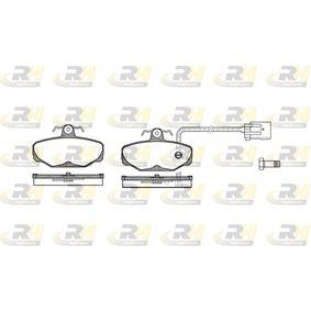 Bremsbelagsatz, Scheibenbremse Höhe: 54mm, Dicke/Stärke: 13,5mm mit OEM-Nummer 1111287