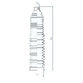 SPIDAN Faltenbalg, Lenkung 84114 für AUDI A6 (4B2, C5) 2.4 ab Baujahr 07.1998, 136 PS