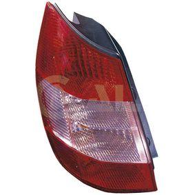 Renault Scenic 2 2.0 (JM05, JM0U, JM1N, JM1U, JM2V) Heckleuchte ALKAR 2212220 (2.0 Benzin 2003 F4R 771)