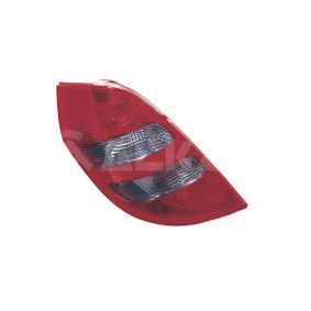 Combination Rearlight Smoke Grey, for left-hand drive vehicles with OEM Number 169 820 0964