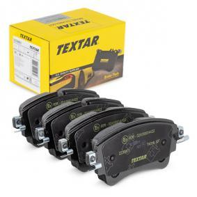 Brake Pad Set, disc brake Width: 129,3mm, Height: 59mm, Thickness: 17,5mm with OEM Number 8W0 698 451N