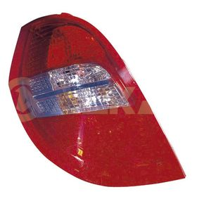 Combination Rearlight Smoke Grey, for left-hand drive vehicles with OEM Number 169-820-2764