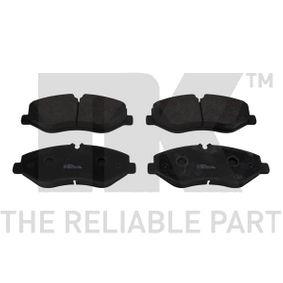 Bremsbelagsatz, Scheibenbremse Breite 1: 184,10mm, Höhe 1: 75,10mm, Dicke/Stärke 1: 19,90mm mit OEM-Nummer 447 420 02 20