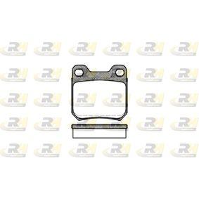 ROADHOUSE  2239.60 Bremsbelagsatz, Scheibenbremse Breite: 61,5mm, Höhe: 61mm, Dicke/Stärke: 15mm
