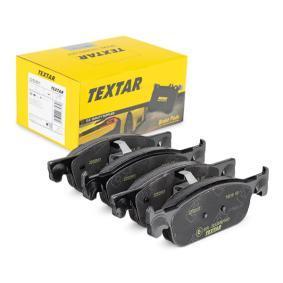 TEXTAR  2252501 Kit de plaquettes de frein, frein à disque Largeur: 155,2mm, Hauteur: 49mm, Épaisseur: 16,9mm