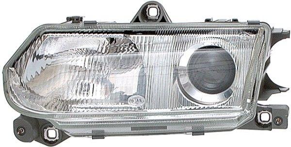 HELLA  1AL 006 970-091 Hauptscheinwerfer für Fahrzeuge mit Leuchtweiteregelung (mechanisch), für Rechtsverkehr