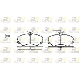 Bremsbelagsatz, Scheibenbremse Höhe: 71,6mm, Dicke/Stärke: 19,5mm mit OEM-Nummer 4251.05
