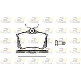 ROADHOUSE Jogo de pastilhas para travão de disco 2263.01 com códigos OEM 1H0615415