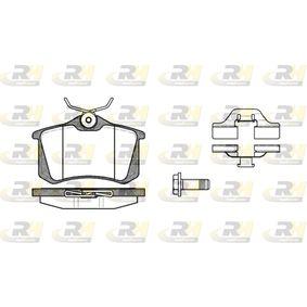 Bremsbelagsatz, Scheibenbremse Höhe: 52,9mm, Dicke/Stärke: 16mm mit OEM-Nummer 191 615 415 A
