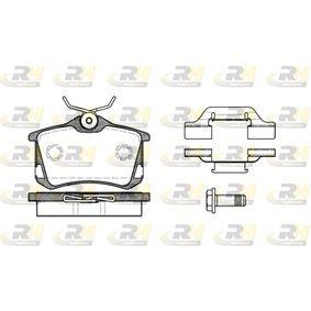 Bremsbelagsatz, Scheibenbremse Höhe: 52,9mm, Dicke/Stärke: 17mm mit OEM-Nummer 425 467