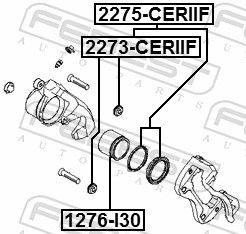 Caliper Repair Kit FEBEST 2275-CERIIF rating