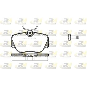 Bremsbelagsatz, Scheibenbremse Höhe: 53,1mm, Dicke/Stärke: 17,8mm mit OEM-Nummer 701 698 451C